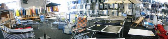 Abteilung Camping Liegen Stühle Tische