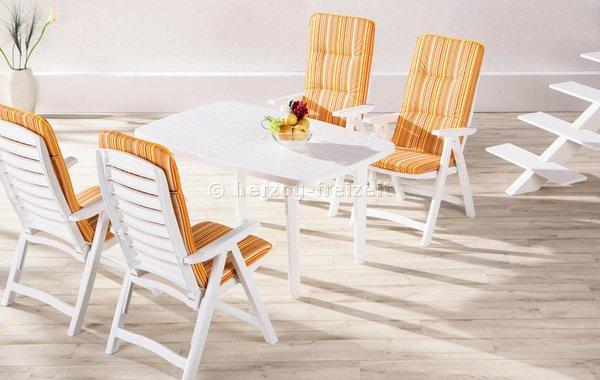 gartenm bel komplett set santiago 9 tlg wei 96297502 ebay. Black Bedroom Furniture Sets. Home Design Ideas