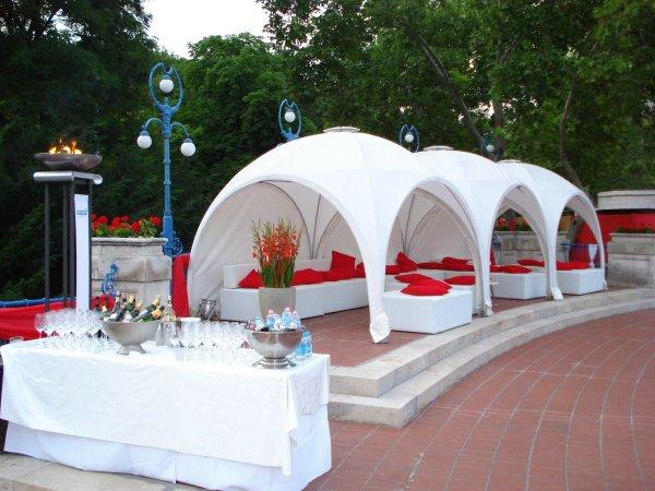 pavillon kuppelzelt