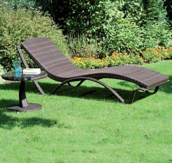 beistelltisch 722 274 mit glasplatte 216 50xh42cm siena garden