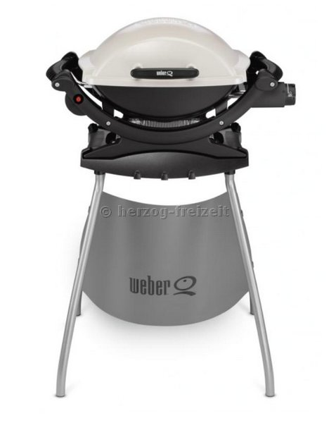 weber q 140 elektrogrill titan stand 310079 ebay. Black Bedroom Furniture Sets. Home Design Ideas