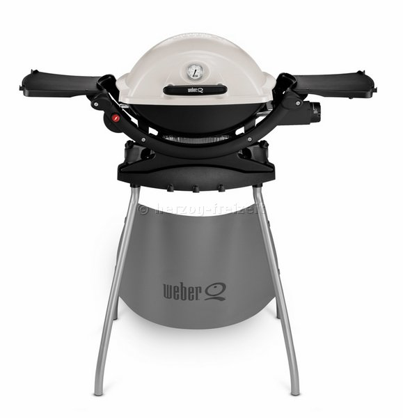 weber q 120 stand titan gasgrill 516879 von weber grill ebay. Black Bedroom Furniture Sets. Home Design Ideas