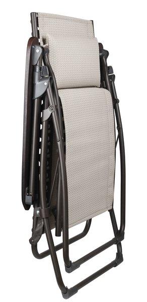 relaxliege evolution acb lfm1989 6463 ficelle von lafuma. Black Bedroom Furniture Sets. Home Design Ideas