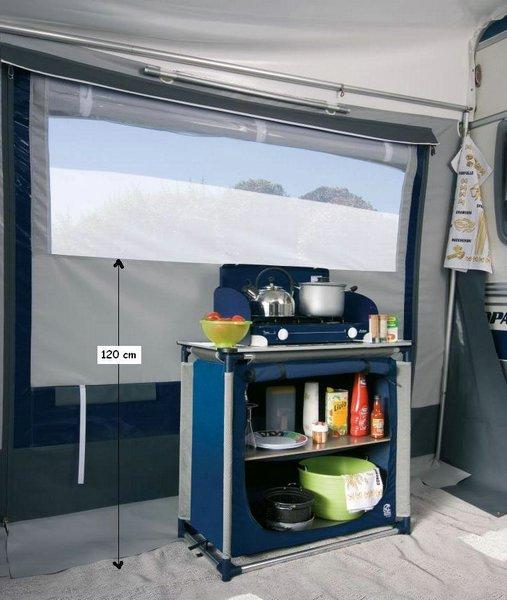 Wohnwagen Vorzelt Optima DC 301-350 HERZOG sahara