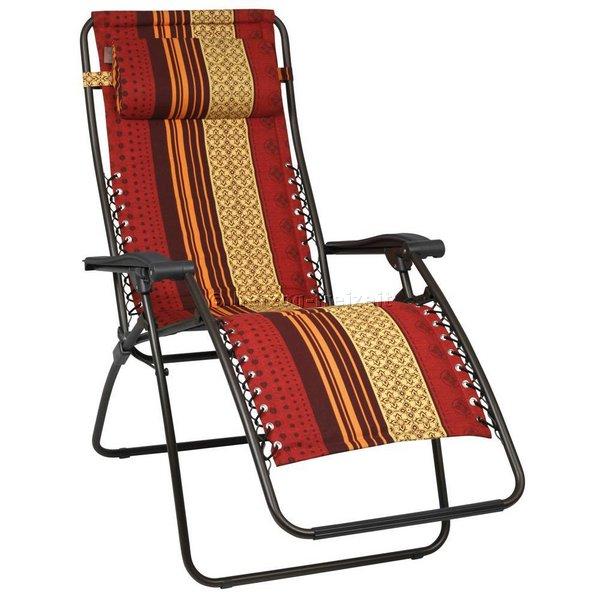 relaxliege rsx von lafuma lfm2001 6087 farbe palio ebay. Black Bedroom Furniture Sets. Home Design Ideas