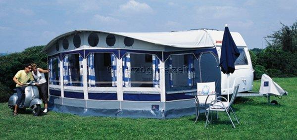 dorema ibiza reise dauercamper vorzelt saisonzelt anthrazit grau 5 750 775 cm standard. Black Bedroom Furniture Sets. Home Design Ideas