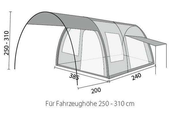 reisemobil vorzelt globus sd 385 x 240 cm buszelt herzog 2015. Black Bedroom Furniture Sets. Home Design Ideas