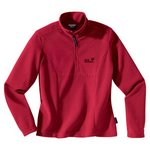 Gecko Women Jack Wolfskin Pullover Gr.M indian red