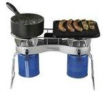 Linie Camping Duo™ Grill CVl für 2 Ventilkartuschen