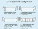 Aufpreis für Zelttiefe 201-220cm beim Vorzeltkauf Optima