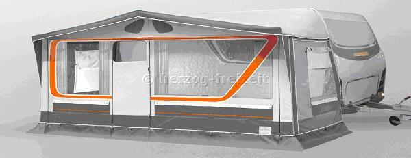Wohnwagen Vorzelt Simply You 2 Gr 8 Herzog 994 Cm Ebay