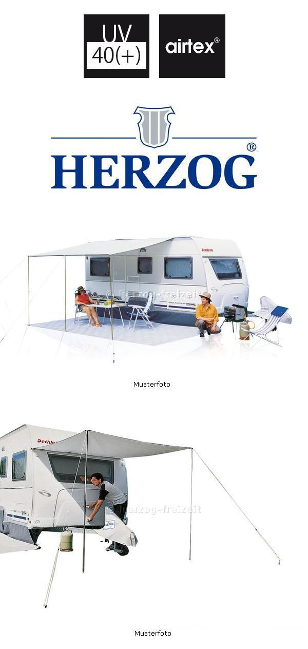 Sonnendach Universal Gr 1 Herzog 200x240cm Airtex Vordach