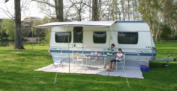 herzog wohnwagen sonnendach sunshine 250 sonnensegel ebay. Black Bedroom Furniture Sets. Home Design Ideas