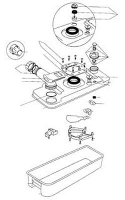 thetford toilette undicht abdeckung ablauf dusche. Black Bedroom Furniture Sets. Home Design Ideas